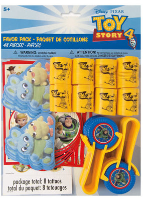 ***Disney Toy Story 4 Favor Pack 48ct