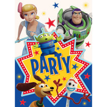 ***Disney Toy Story 4 Invitations, 8ct