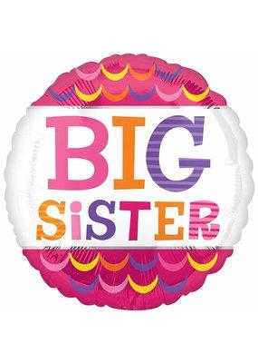 "***Big Sister 18"" Mylar Balloon"