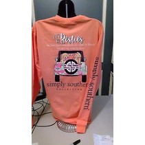 ***Simply Southern Preppy Best Sunglow Long Sleeve Youth Small