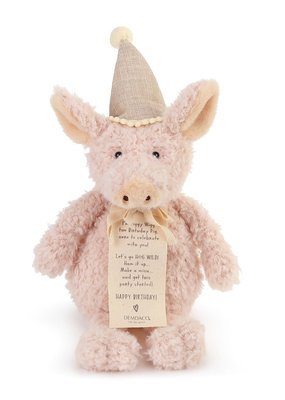 ***Piggy Wigg the Birthday Pig Plush Toy