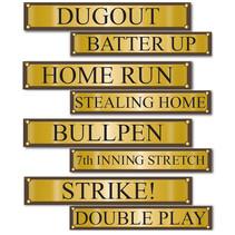 ***Baseball Street Signs