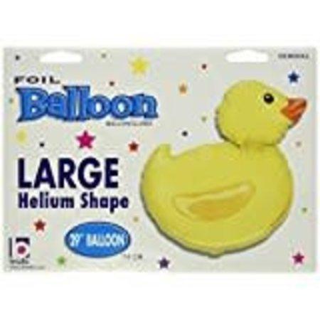 """***Jumbo 29"""" Just Ducky mylar balloon"""