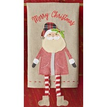 ***Santa Dangle Leg Towel