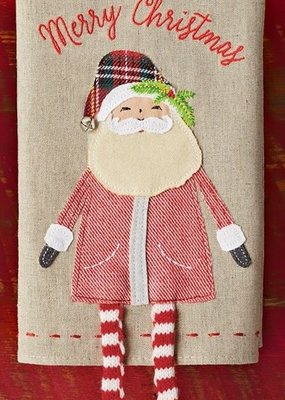 ***Santa Dangle Leg Towel