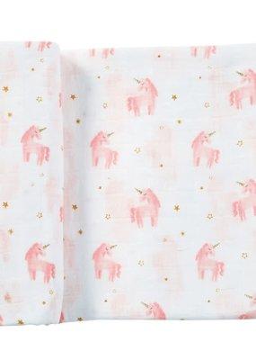 ***Unicorn Muslim Swaddle Blanket