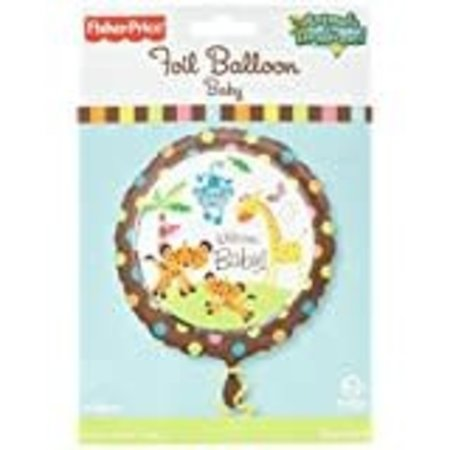 ***Fisher Price Welcome Baby Mylar Balloon