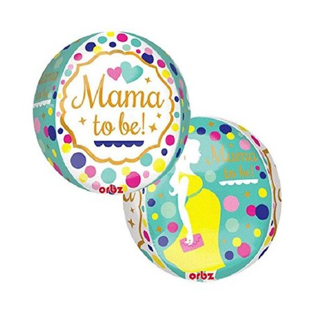 ***Mama to Be Orbz Balloon
