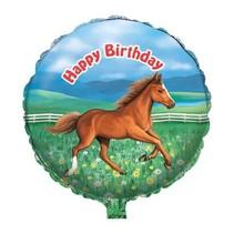 "***My Horse Birthday 18"" Mylar Balloon"