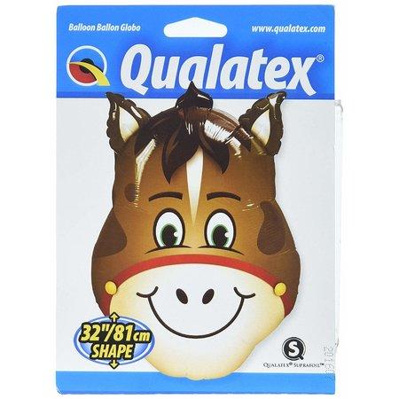 """***Horse Head 32"""" Mylar Balloon"""