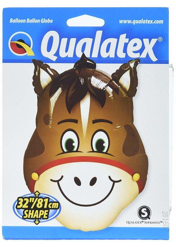"""*****Horse Head 32"""" Mylar Balloon"""