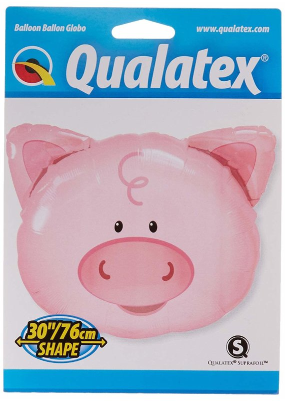"***Pig Head 30"" Mylar Balloon"
