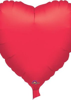 "***Casino Red Heart 32"" Mylar Balloon"