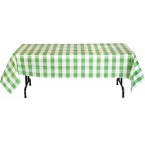 ***Green Classic Plaid Tablecover