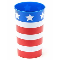 ***Patriotic 22oz Plastic Cup 1ct