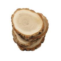 ***Wood Slice Coaster Set
