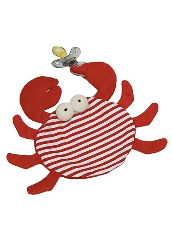 Maison Chic ***Skipper the Crab Pacifier Blanket