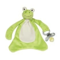***Freckles the Frog Pacifier Blanket