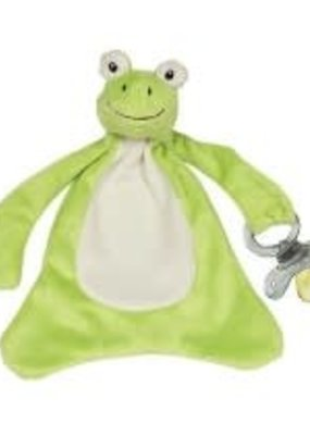 Maison Chic ***Freckles the Frog Pacifier Blanket