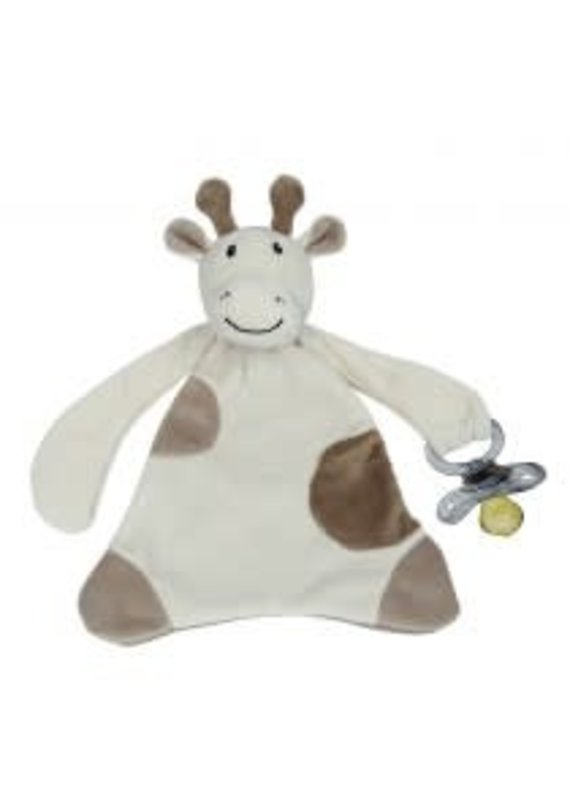 Maison Chic ***Gale the Giraffe Pacifier Blanket