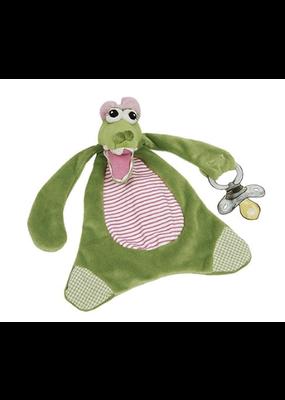 Maison Chic ***Gabby the Gator Pacifier Blanket