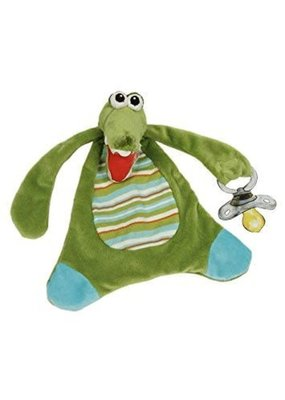 Maison Chic ***Garry the Gator Pacifier Blanket