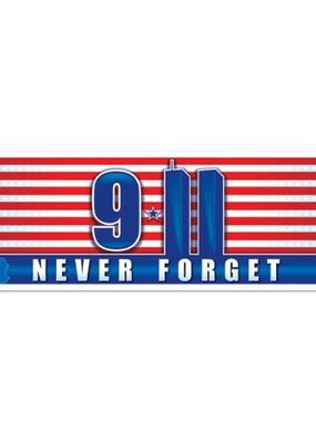 ***911 Never Forget Banner
