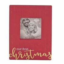 ***Our First Christmas Block Frame