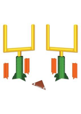 ***Football Goal Post 3D Centerpiece