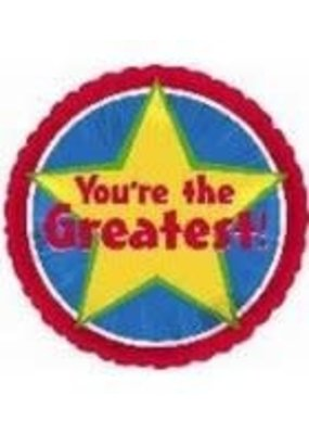 """***You're the Greatest 18"""" Mylar Balloon"""