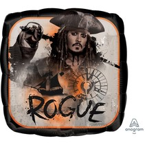 "***Pirates of the Caribbean Rogue 18"" Mylar Balloon"