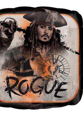 "***Pirates of the Caribbean Rogue 18"" Mylar Balloon"