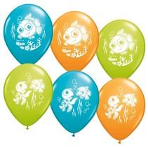 ***Finding Nemo 6ct Latex Balloons