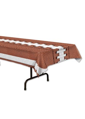 ***Football Plastic Rectangle Tablecover
