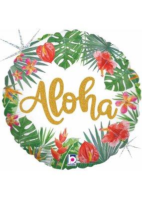 """***Aloha 18"""" Mylar Balloon"""