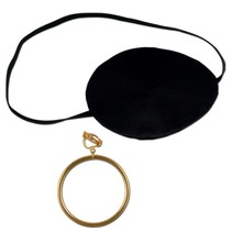 ***Pirate Eye Patch & Earring