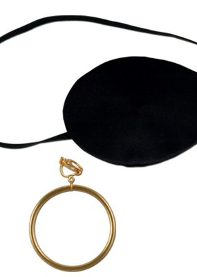 ***Pirate Eye Patch & Earring