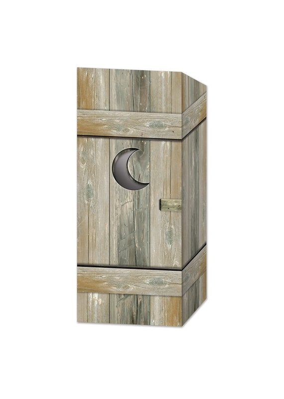 """***Outhouse 8.75"""" Centerpiece"""