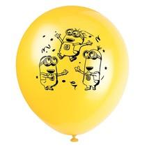 ***Despicable Me Minion 8ct Latex Balloons
