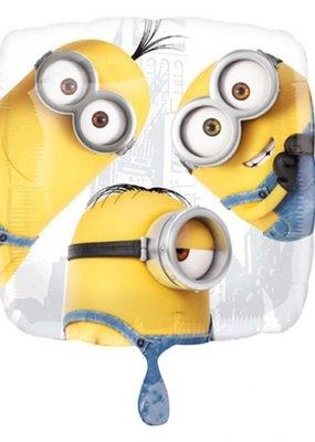 """***Despicable Me Minion Group 18"""" Mylar Balloon"""