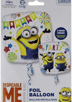 ***Despicable Me Minion Hooray Mylar Balloon