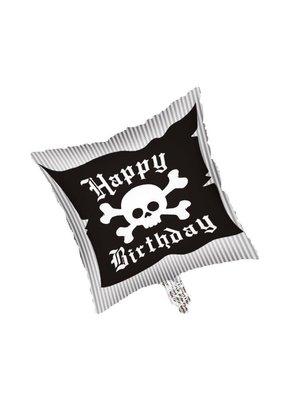 "***Pirate Birthday Party 18"" Square Mylar Balloon"
