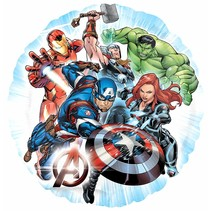 "***Avengers Group 18"" Mylar Balloon"
