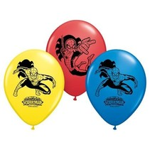 "***Spiderman 12"" Latex Balloons 6ct"