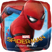 "***Spiderman Homecoming 18"" Square Mylar Balloon"