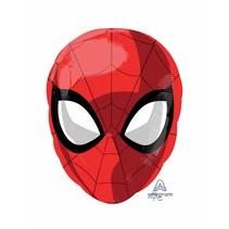 ***Spiderman Head Shape Mylar Balloon