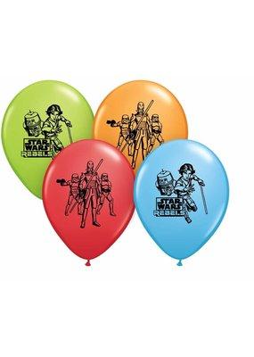 Pioneer Balloon Company ***Star Wars Rebel 6ct Latex Balloons