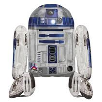 "***Star Wars R2D2 Airwalker 34""x 38"" Balloon"