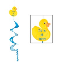 ***It's a Boy Duck Wind Spinner