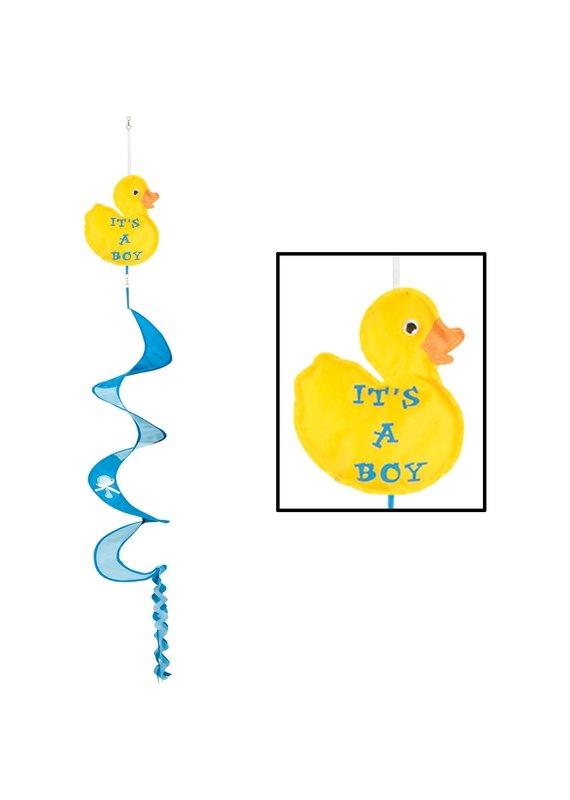 ***It's a Boy Duck Wind Spinner